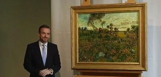 長年贋作だと思われていた絵が本物のゴッホ作「モンマジュールの夕暮れ」だと判明!