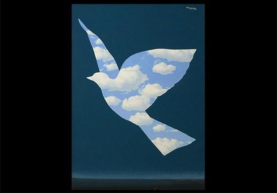 航空会社のデザイン 引用元:マグリット展   René Magritte