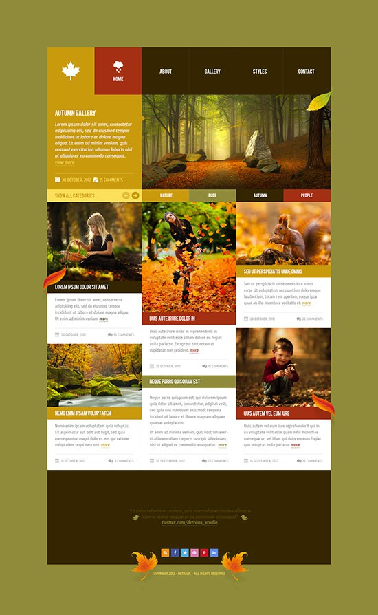 Forrst | Autumn - WordPress Theme - A post from detrans