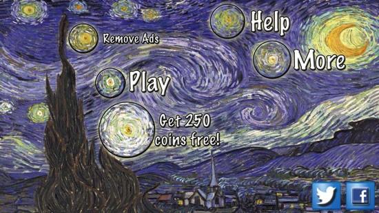 「Van Gogh game」
