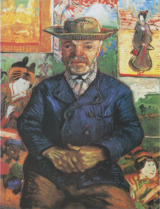 ゴッホ「タンギー爺さん(1887年)」