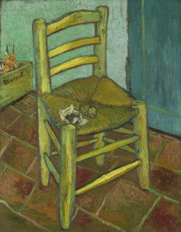 ゴッホ「ファン・ゴッホの椅子」