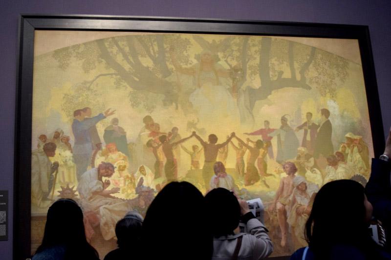 「スラヴ菩提樹の下でおこなわれるオムラジナ会の誓い(1926年/未完成)」