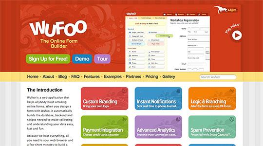 Wufoo ? Online Form Builder!