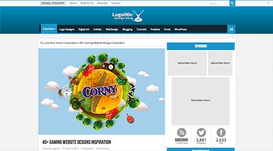 40+ Gaming Website Designs Inspiration | Logolitic