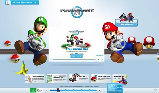 Mario Kart Wii Experience