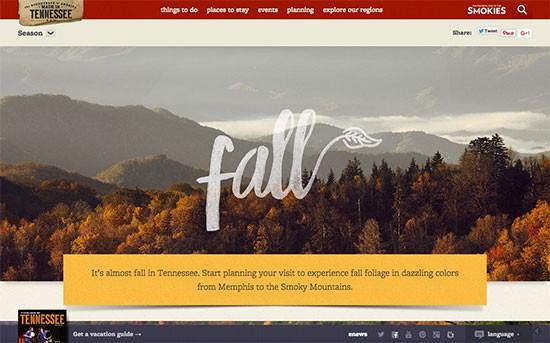 Seasonal Splendor | Tennessee Vacation