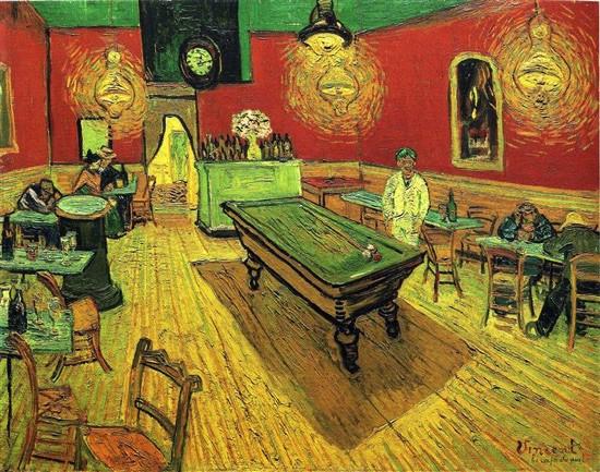 「夜のカフェ(1888年)」