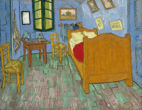 「ファン・ゴッホの寝室」