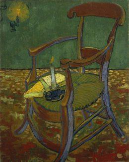 ゴッホ「ゴーギャンの肘掛け椅子」