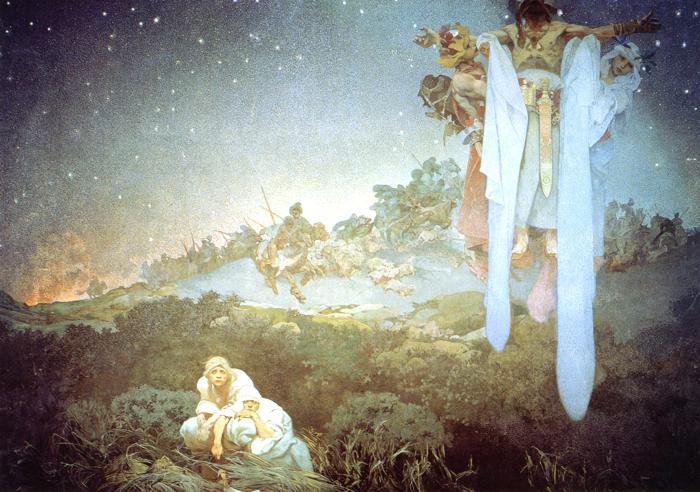 「原故郷のスラヴ民族(1912年)」